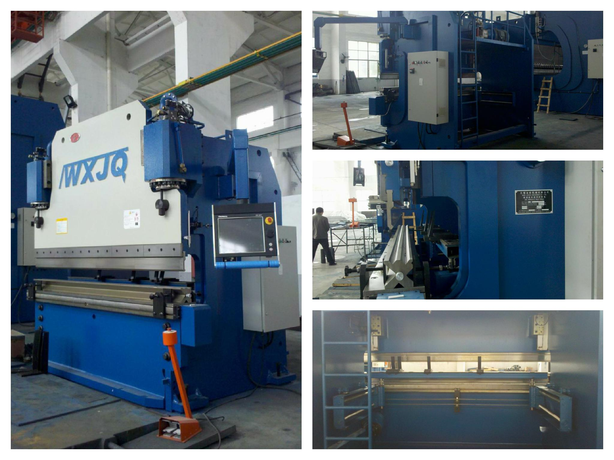 320t cnc hydraulic press brake machine