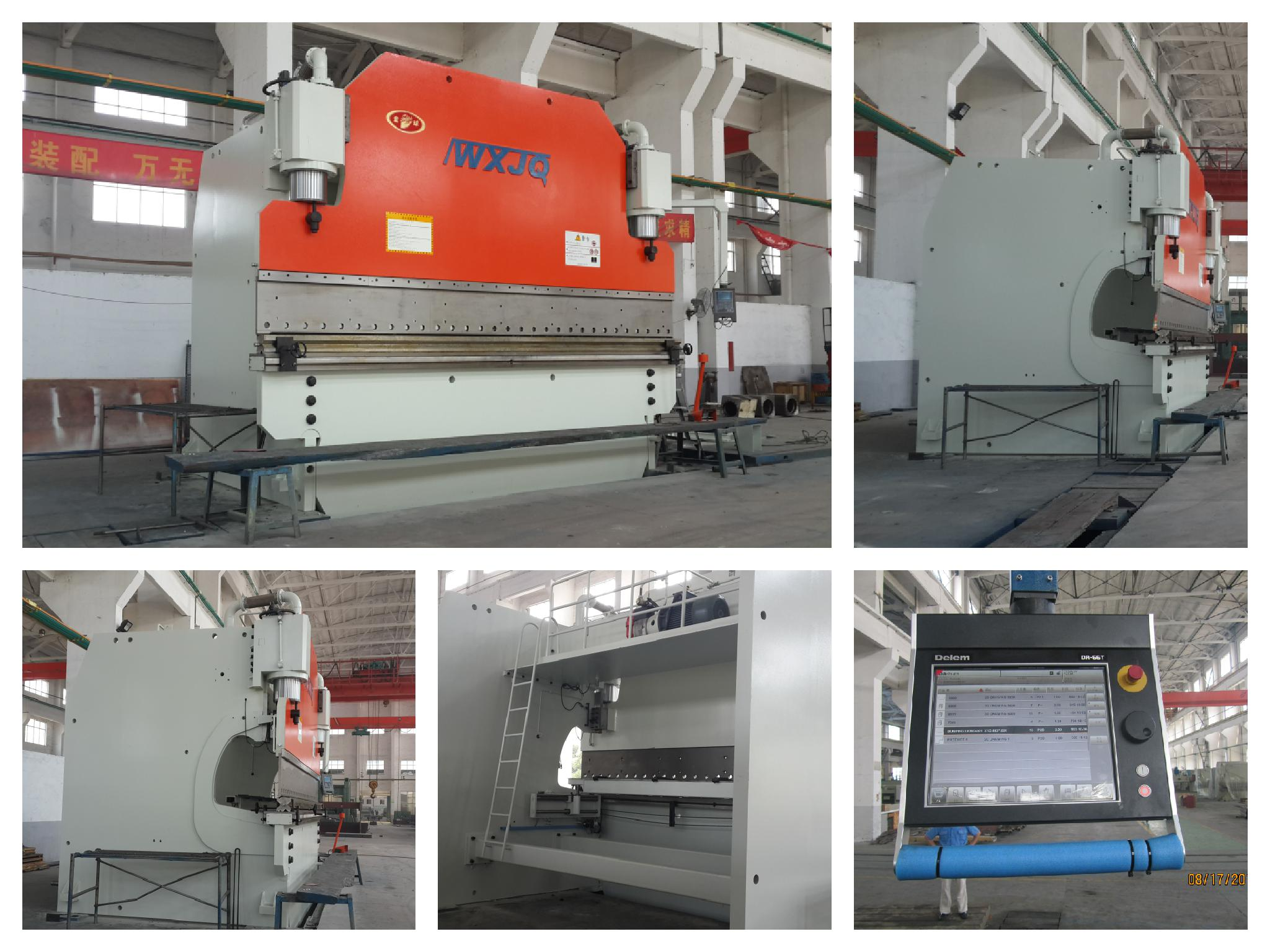 800T Heavy CNC hydraulic press brake machine