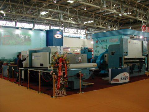 punching hydraulic press brake exhibition show