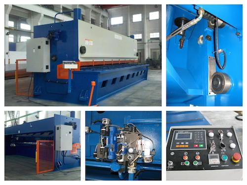 25mm guillotine hydraulic shearing machine